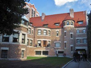 John J. Glessner House. Restored windows.